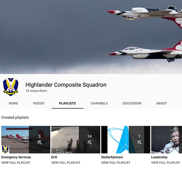 Squadron YouTube Channel